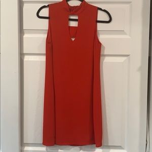 Skies Are Blue Dresses - Red cocktail dress
